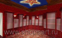 Визуализация дизайн проекта ювелирного магазина Октябрь Фрунзенская набережная Дизайн 16
