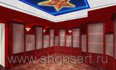 Визуализация дизайн проекта ювелирного магазина Октябрь Фрунзенская набережная Дизайн 17
