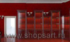 Визуализация дизайн проекта ювелирного магазина Октябрь Фрунзенская набережная Дизайн 19