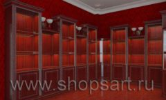 Визуализация дизайн проекта ювелирного магазина Октябрь Фрунзенская набережная Дизайн 21