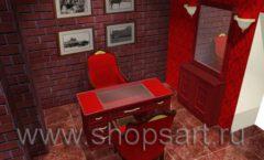 Визуализация дизайн проекта ювелирного магазина Октябрь Фрунзенская набережная Дизайн 23