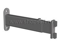 """009 TМ 14. Крепление к стене, регулируемое. При использовании данного крепления, стойка будет располагаться от стены на расстоянии. Покрытие: """"Хром"""", """"Cильвер"""", """"Сатин""""."""