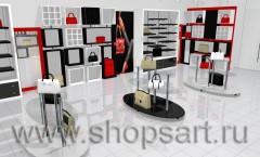 Визуализация магазина сумок