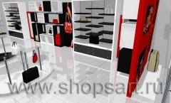 Визуализация магазина сумок БРЕНД