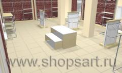 Визуализация коллекции Белая классика для магазинов одежды