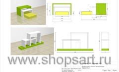 Дизайн-проект магазина детской обуви Мишутка