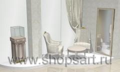 Визуализация ювелирного магазина Обручальное кольцо Дмитров