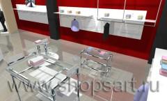 Визуализация магазина мужской одежды 2 CG МИНИМАЛИЗМ
