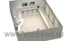 Дизайн интерьера ювелирного магазина Обручальное кольцо коллекция ЭЛИТ ГОЛД Дизайн 6