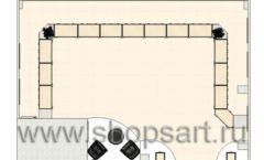 Дизайн интерьера ювелирного магазина Обручальное кольцо коллекция ЭЛИТ ГОЛД Дизайн 8