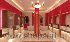 Дизайн интерьера ювелирного магазина Золото Якутии VIP зал КОФЕ С МОЛОКОМ Дизайн 1