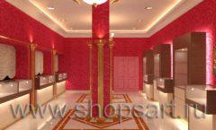 Дизайн интерьера ювелирного магазина Золото Якутии VIP зал КОФЕ С МОЛОКОМ Дизайн 2