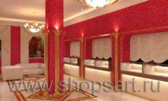 Дизайн интерьера ювелирного магазина Золото Якутии VIP зал КОФЕ С МОЛОКОМ Дизайн 3