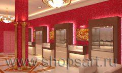 Дизайн интерьера ювелирного магазина Золото Якутии VIP зал КОФЕ С МОЛОКОМ Дизайн 4