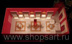 Дизайн интерьера ювелирного магазина Золото Якутии VIP зал КОФЕ С МОЛОКОМ Дизайн 5