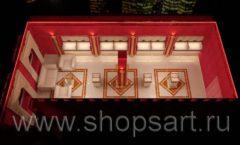 Дизайн интерьера ювелирного магазина Золото Якутии VIP зал КОФЕ С МОЛОКОМ Дизайн 6