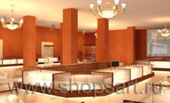 Дизайн интерьера ювелирного магазина Золото Якутии коллекция КОФЕ С МОЛОКОМ Дизайн 6
