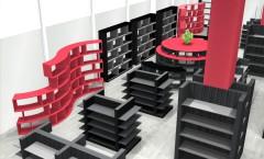 Визуализация магазина бижутерии на основе коллекции Розовый букет 2