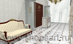 Визуализация свадебного салона