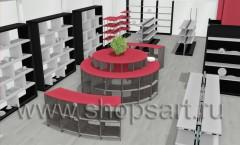Дизайн-проекты магазинов посуды