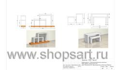 Дизайн-проект магазина детской обуви Пешеходик 13