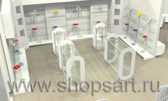 Визуализация детского магазина Винни Дрим Хаус 21 ВЕК