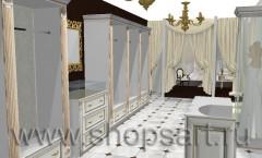 Визуализация свадебного салона LUXURY NOVA ЭЛИТ ГОЛД