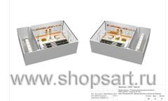 Дизайн-проект магазина детской обуви Пешеходик 20