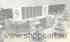 Визуализация магазина детской одежды Винни Dream House 21 ВЕК