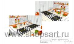 Дизайн-проект магазина детской обуви Пешеходик 23