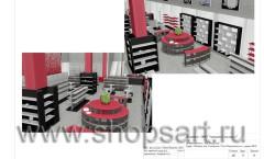 Дизайн-проект магазина посуды