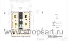 Дизайн-проект магазина детской обуви Пешеходик 6