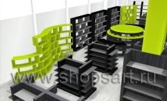 Визуализация магазина посуды