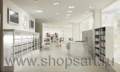 Визуализация магазина детской одежды Винни Барвиха 21 ВЕК