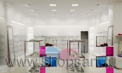 Визуализация магазина одежды на основе коллекции 21 век