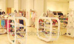 Торговое оборудование 21 ВЕК для детского магазина Винни обувь ТЦ Dream House Фото 02