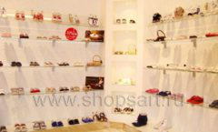 Торговое оборудование 21 ВЕК для детского магазина Винни обувь ТЦ Dream House Фото 06