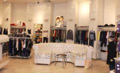 Торговое оборудование 21 ВЕК для детского магазина Винни одежда ТЦ Юнимолл Фото 01