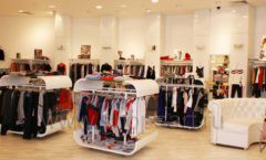 Торговое оборудование 21 ВЕК для детского магазина Винни одежда ТЦ Юнимолл Фото 03
