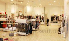 Торговое оборудование 21 ВЕК для детского магазина Винни одежда ТЦ Юнимолл Фото 04