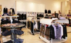 Торговое оборудование 21 ВЕК для детского магазина Винни одежда ТЦ Юнимолл Фото 06