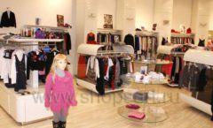 Торговое оборудование 21 ВЕК для детского магазина Винни одежда ТЦ Юнимолл Фото 08