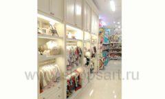 Торговое оборудование БЕЛАЯ КЛАССИКА детского магазина Винни Dream House третий этаж Фото 13
