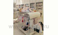 Торговое оборудование БЕЛАЯ КЛАССИКА детского магазина Винни Dream House третий этаж Фото 14