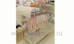 Торговое оборудование БЕЛАЯ КЛАССИКА детского магазина Винни Dream House третий этаж Фото 15