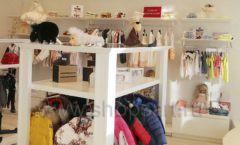Торговое оборудование БЕЛАЯ КЛАССИКА детского магазина Винни Dream House третий этаж Фото 20
