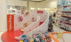 Торговое оборудование БЕЛАЯ КЛАССИКА детского магазина Винни Dream House третий этаж Фото 25