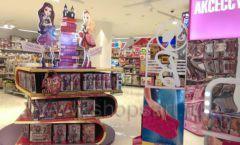 Торговое оборудование БЕЛАЯ КЛАССИКА детского магазина Винни Dream House третий этаж Фото 26