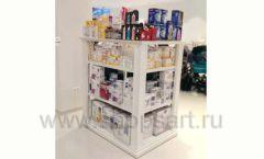 Торговое оборудование БЕЛАЯ КЛАССИКА детского магазина Винни Dream House третий этаж Фото 27