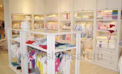 Торговое оборудование БЕЛАЯ КЛАССИКА для детского магазина Винни ТЦ Dream House Фото 01